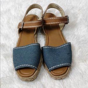 Marc Fisher MFterace2 espadrille flat sandal